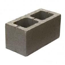Вентиляционный керамзитобетонный блок Еврокам размером 300х200х400 мм
