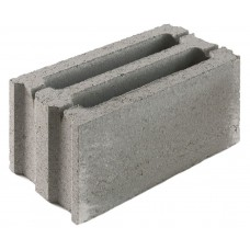 Стеновой керамзитобетонный блок Еврокам размером 300х200х400 мм