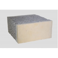 Облицовочный керамзитобетонный блок Термокомфорт размером 390х120х188 мм