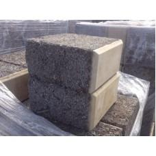 Облицовочный арболитовый блок размером 500х250х150 мм