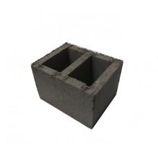 Вентиляционный керамзитобетонный блок Термокомфорт размером 390х120х188 мм