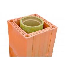 Пустотелый керамический блок Porotherm М-150