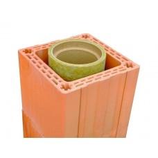 Керамический блок 380х250х219 мм Porotherm М-150 для дымоходов