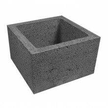 Керамзитобетонный блок 390х90х188 мм Алексин
