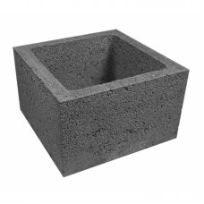 Вентиляционный керамзитобетонный блок Алексин размером 390х90х188 мм