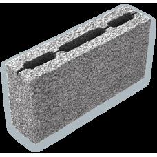 Перегородочный керамзитобетонный блок Алексин размером 390х90х188 мм
