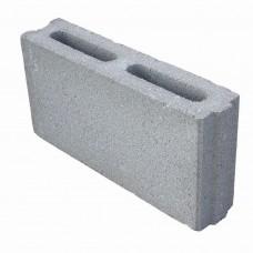 Стеновой керамзитобетонный блок Алексин размером 390х90х188 мм