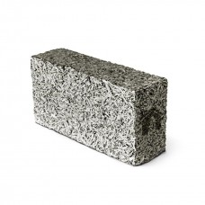 Перегородочный арболитовый блок размером 500х250х400 мм