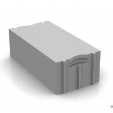 Серый облицовочный твинблок Ревда ТБ-100