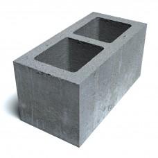 Вентиляционный керамзитобетонный блок Еврокам размером 400х400х200 мм