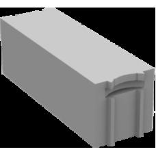 Серый перегородочный твинблок Теплит ТБ-100