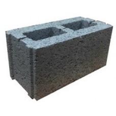 Стеновой керамзитобетонный блок Еврокам размером 400х400х200 мм