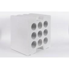 Силикатный блок Аэробел D500 размером 600х300х100 мм