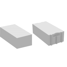 Белый облицовочный твинблок Инси ТБ-300