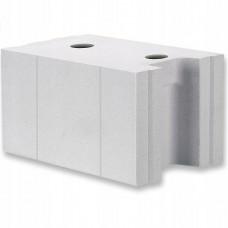Силикатный блок Поревит D500 размером 600х300х100 мм