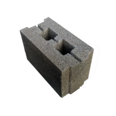 Стеновой керамзитобетонный блок Термокомфорт размером 390х190х188 мм