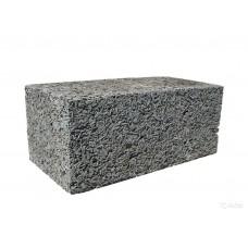 Перегородочный арболитовый блок размером 600х400х250 мм