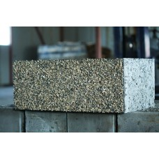 Облицовочный арболитовый блок размером 600х300х200 мм