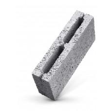 Перегородочный керамзитобетонный блок Алексин размером 200х200х400 мм