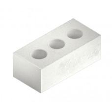 Керамический одинарный пустотелый белый кирпич Керамин