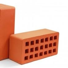 Красный керамический кирпич Porotherm М-250