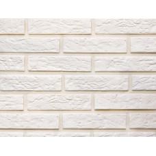 Белая клинкерная плитка под кирпич 215x25x65 мм