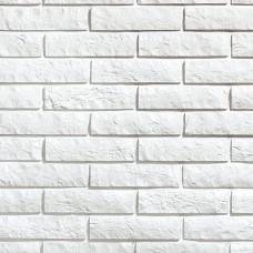 Белая клинкерная плитка под кирпич 250x65x10 мм