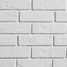 Белый декоративный кирпич Ижора