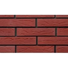 Красный декоративный кирпич Бессер