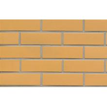 Желтая клинкерная плитка под кирпич 440x52x14 мм
