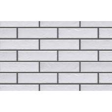 Белая клинкерная плитка под кирпич 240х71х8 мм